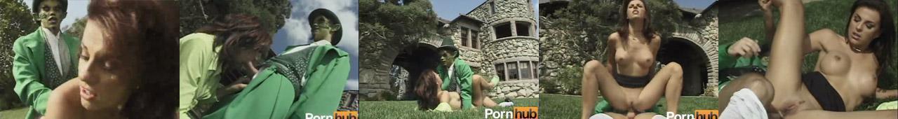 Bajkowe porno - polska ruchana przez zielonego skrzata