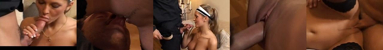 Sara Nice jako pokojówka